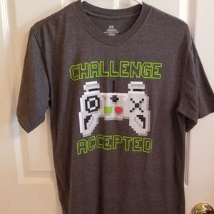 Challenge Accepted Graphic T-shirt size XL 14/16